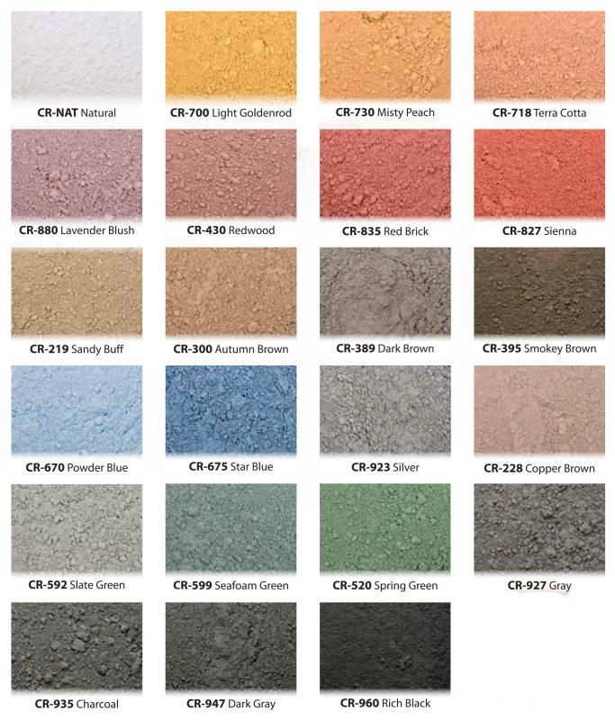 Concrete Coloring – Eric Minnick\'s Concrete